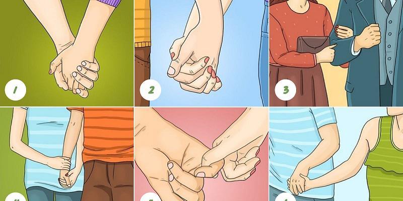 Trắc nghiệm: Cách nắm tay tiết lộ điều gì về bạn