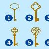 Chiếc chìa khóa bạn chọn nói lên điều gì?